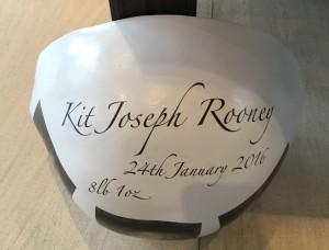 Coleen Rooney Bump bowl