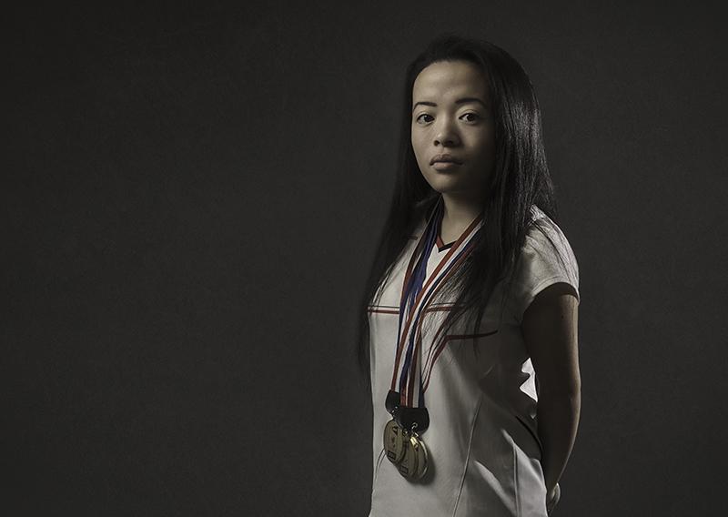 Rachel Choong is the world number 1 in para-badminton