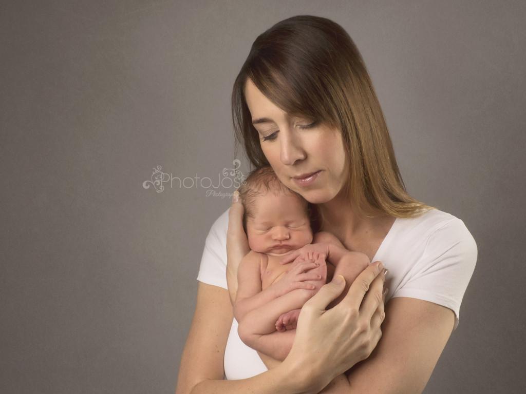 mum and newborn baby
