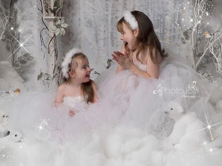 festive photo shoot